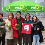 Informationsstand zum Equal Pay Day in Baunatal (19.03.2016)