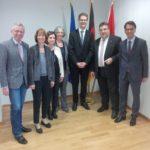 Zu Gast bei der Hessischen Landesvertretung in Brüssel (09.11.2016)