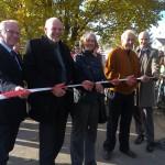 bei bestem Fahrradwetter war die Eröffnung des Fulda-Radwegs R1.