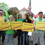 Fracking Demo in Kassel