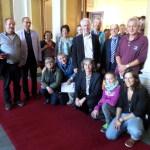 Besuchergruppe im Hessischen Landtag, 15.10.2014