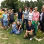 Sommertour - Besuch des AKKG + Gartenprojekt mit Jugendlichen.