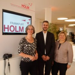 Besuch im House of Logistic and Mobility (02.02.2017)