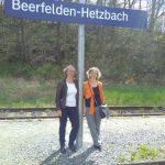 """Mit Unterstützung der Landesebene kann das Projekt """"Bahnhof #Hetzbach"""" angepackt werden (16.04.2018"""
