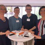 Interessierte Schüler informieren sich über die Arbeit des Landtages (25.04.2018