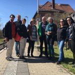 Die Wiesbadener Grünen zu Besuch in Kassel zum Projekt Regiotram 07.April 2018