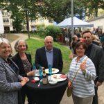 Feierliche Neueröffnung des Studentenwohnheims in der Weserstrasse (11.05.2018).