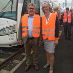 Tarek Al-Wazir und der NVV unterzeichnen Absichtserklärung zur Elektrifizierung der Strecke Kassel-Wolfhagen(10.07.2018)