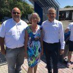 Einweihung der Radstätte Deutsche Einheit in Rasdorf (19.07.2018)