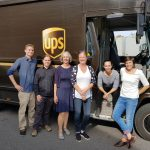 Interessanter Besuch bei UPS (17.09.2018).