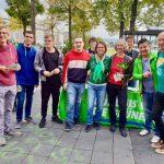 Wahlkampfstand mit Priska Hinz (22.09.2018)
