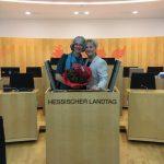 Gewählt zur Vizepräsidentin des Hessischen Landtages (18.01.2019)